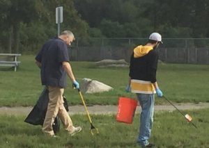 Bask sponsored September cleanups with Be The Solution to Pollution