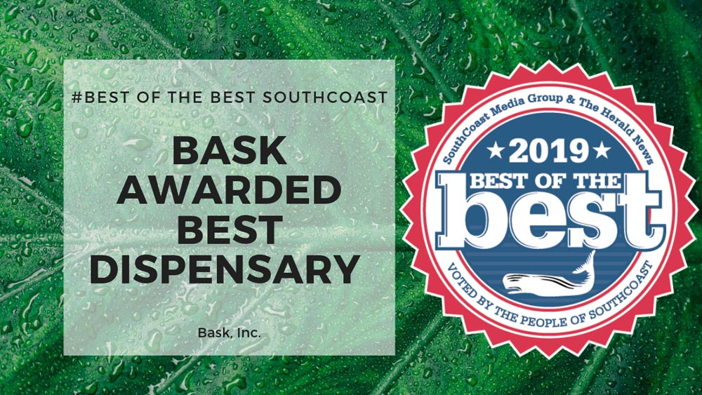 Bask Awarded Best Cannabis Dispensary in the Southcoast